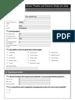 3.ETPOS Appendix 3, Site Questionnaire (Pre-Study)