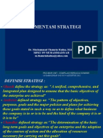 MATERI MANSTRA Implementasi Strategi 40812