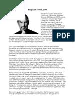Biografi Stave Jobs
