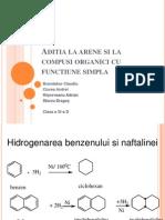 Aditia-Arene Si Compusi Organici Cu Functiune Simpla
