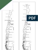 Mapa Chile Unido Mudo