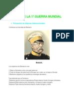 Causas 1º guerra Mundial (1)