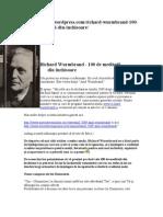 Richard Wurmbrand - 100 de Meditatii Din Inchisoare