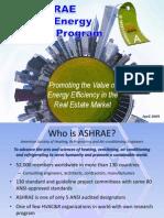 ASHRAE Building Labeling Program