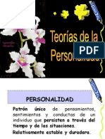 Teorías Personalidad