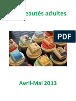 nouveautés adultes avril-mai 2013