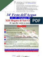 AdP Festa dell' Acqua e Regata San Giovanni 2013