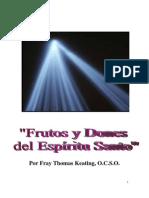 Frutos y Dones Del Espiritu Santo Thomas Keating