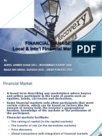 FINANCIAL MARKETS (PAKISTAN AND INTERNATIONAL) .pptx