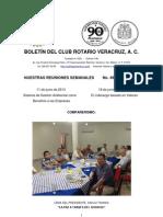 Boletín Rotario del 11 de junio de 2013