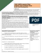 vapa di lesson plan template pre-tpa sp 11 rough draft