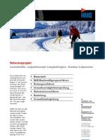 Lenzerheide GR, Ausbau Loipennetz durch die HMQ AG