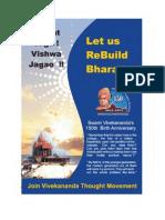 Let Us Rebuild Bharat Brochure
