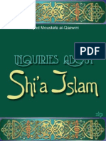 Inquiries About Shia Islam - Sayed Moustafa Al-Qazwini - XKP