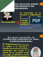 Factores Que Influyen Sobre El Comp.consumidor Mctj.