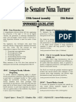 Senator Turner's Legislation | 130th General Assembly
