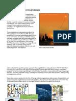 5) Climate Change, Sustainability & Footprint of the Neighborhood