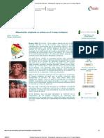 Instituto Nacional de Nutrición - Alimentación originaria se activa con el Trompo Indígena