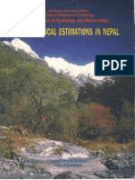 Hydrologic Estimationd in Nepal by KP Sharma & NR Adhikari