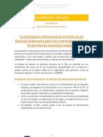 Experta participación internacional (IDEAS PRINCIPALES) Primera parte