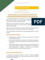 Experto estrategias de comunicación (IDEAS PRINCIPALES) Primera parte