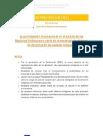 Experta participación internacional (IDEAS PRINCIPALES) Retos