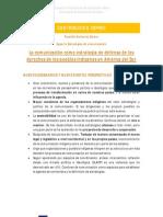 Experto estrategias de comunicación (IDEAS PRINCIPALES) Retos