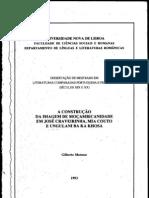 A construção da imagem de moçambicanidade em José Craveirinha, Mia Couto e Ungulani Ba Ka Khosa