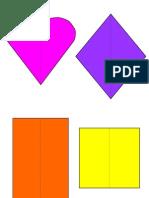 Formen - Farben - Legespiel