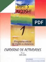 Cuaderno de trabajo 1º curso