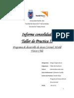 Informe Consolidado Taller Practica II PDA Coronel World Vision Chile-D.vergara Arros