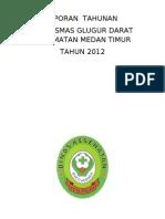 2012 Laporan Tahunan Puskesmas Glugur Darat Kecamatan Medan Timur