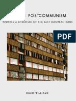 Draft Cover - Writing Postcommunism