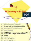 Detailing to BS 8110