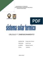 Sistema Solar Termico Para ACS