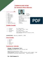 Curriculum Vitae - Cecilia Rios