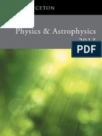Physics & Astrophysics Catalog 2013