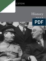 History 2013 Catalog.