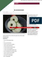 Donuts de maçã nada convencionais - Yahoo! Mulher