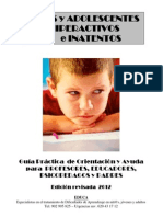 Trastornos Por Deficit de Atencion-hiperactividad.ed 2012