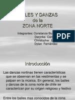 Bailes y danza  de la zona norte.ppt