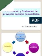 A. Formulación de Proyectos Comunitarios