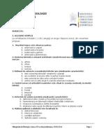 2011 Biologie Etapa Judeteana Subiecte Clasa a VII-A