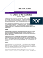 The Shaktis of the Nakshatras