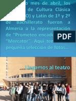 """""""El aedo teatro"""" en Almería"""