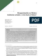 Escalante et al 2007 Desagrarización en México, tendencias actuales y retos hacia el futuro. Escrito por