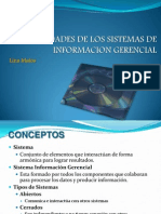 Generalidades Sistema Informacion Gerencial