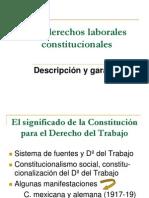 Los Derechos Laborales Constitucionales