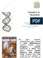 Genetics & Business