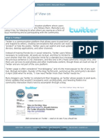 360i Report on Twitter (April 2009)